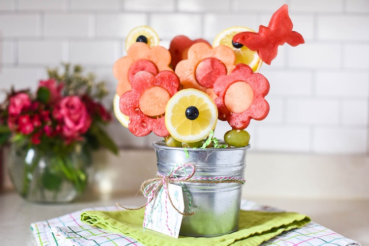 Easy Mother's Day Fruit Bouquets