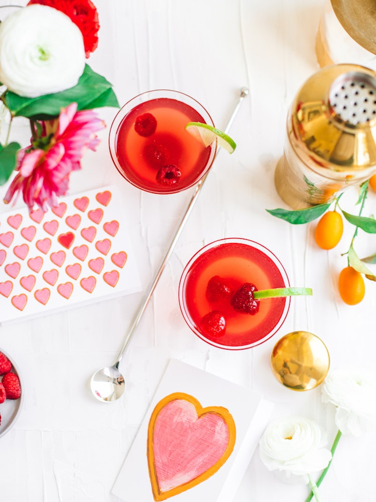 Galentine's Cocktail: Cherry Lime Dirty Shirleys