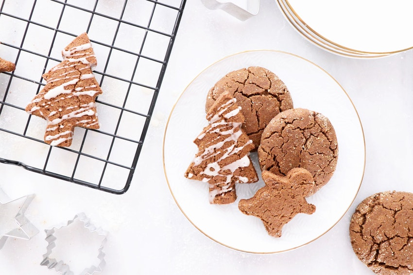 These Gingerbread Cookies Are the Guilt-Free Holiday Treat You Need