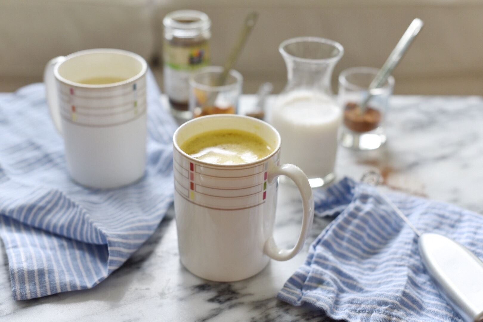 Start Your Day with This Golden Milk Latte