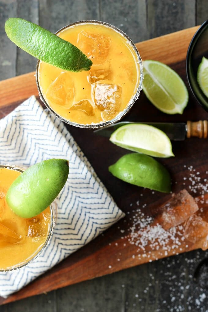 Grilled Mango Habanero Margarita 4