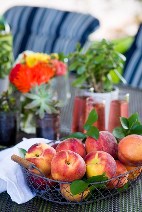 Grilled Peaches And Mascarpone Pound Cake 04