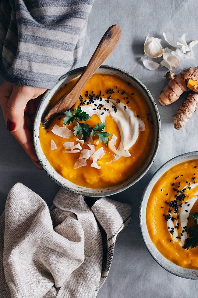 Healing Carrot Soup 2