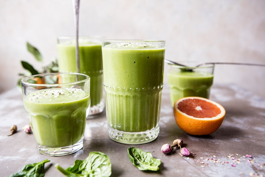 Healthy Tropical Green Smoothie Recipe