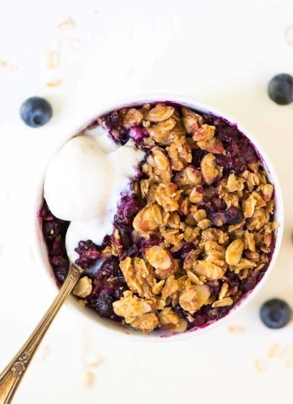 Healthy Triple Berry Crisp 600X826