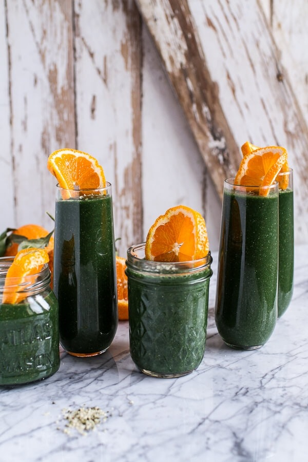 Holiday Detox The Mean Green Smoothie 1