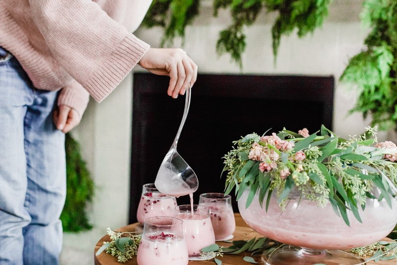 The Festive & Refreshing Pomegranate Punch You Need to Make This Holiday Season