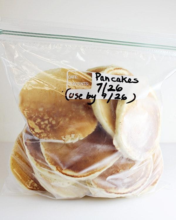 How To Freeze Pancakes 5