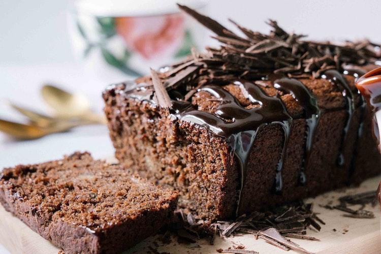 Healthy Chocolate Lover's Banana Bread