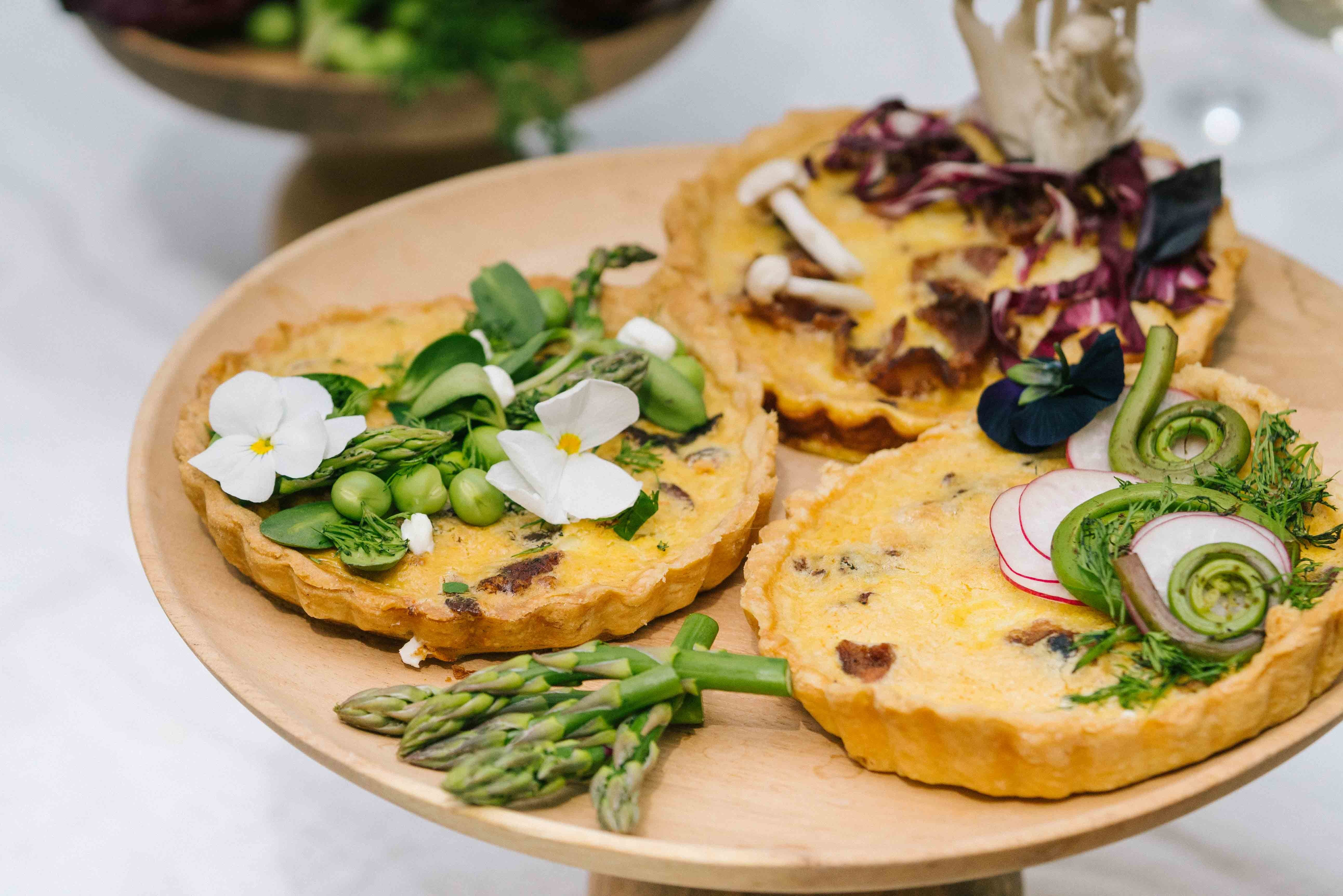 Mini Spring Quiches for Your Next Brunch