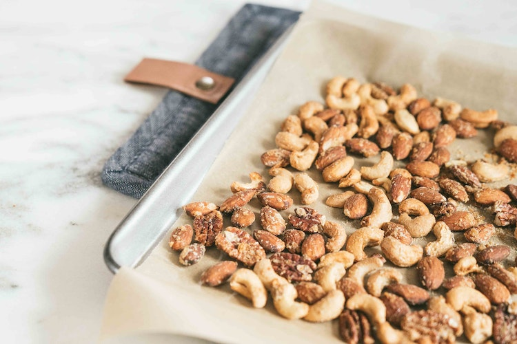 Spiced Sage Party Nuts
