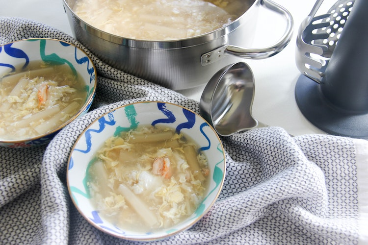 Crab & Asparagus Soup for Lunar New Year