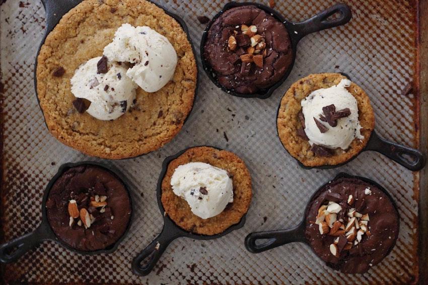 3 Skillet Dessert Recipes