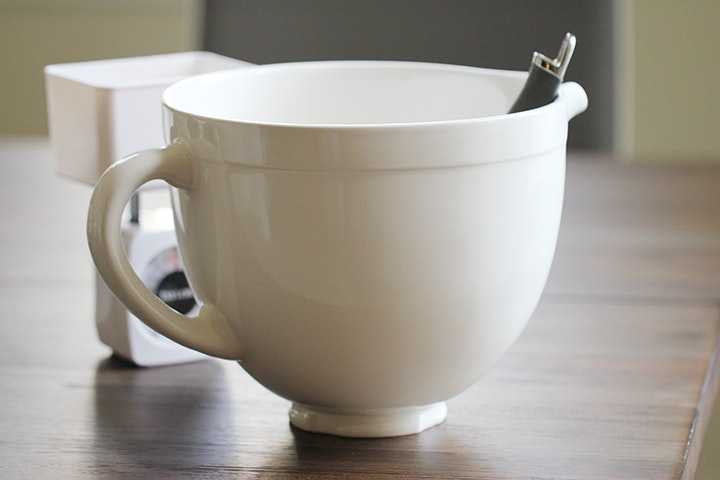 KitchenAid Tilt Head Ceramic Bowl