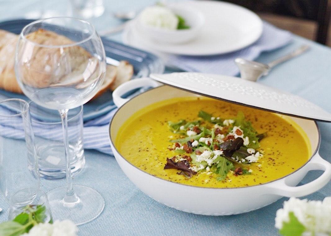 Carrot & Ginger Summer Soup Recipe