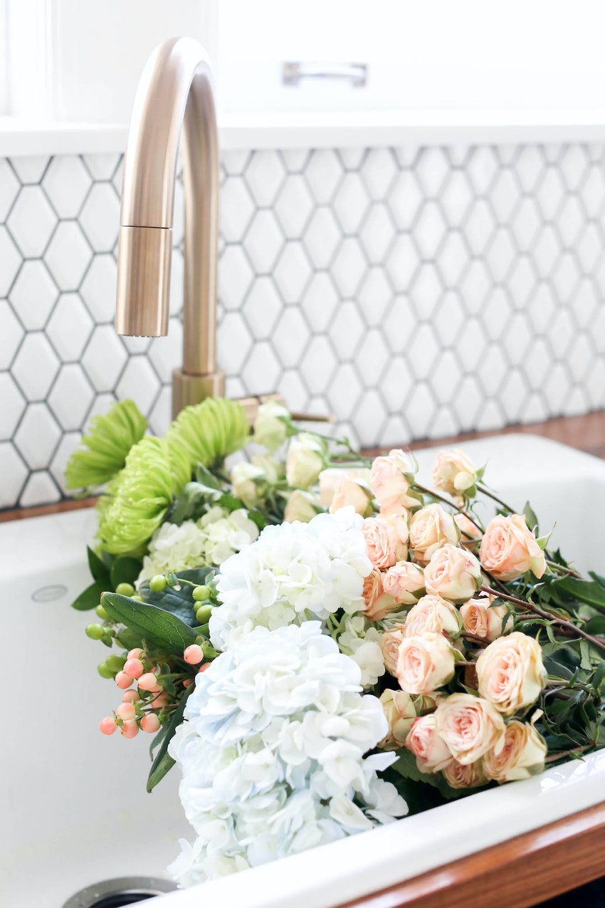 Non-Traditional Flower Arrangements for When You Can't Find a Vase