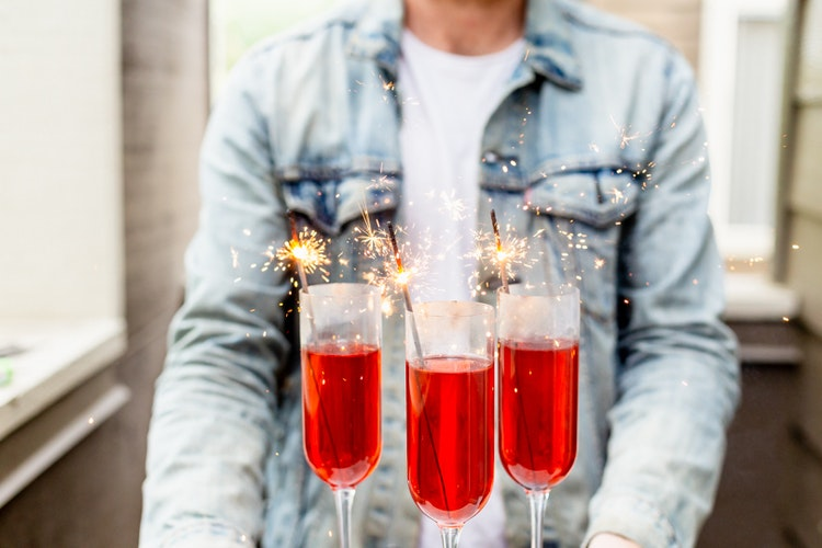 Carbonated Cocktails That Bring All the Fireworks