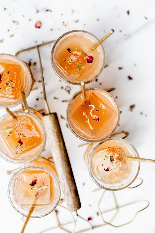 Honey Floral Iced Tea Pitcher Cocktails