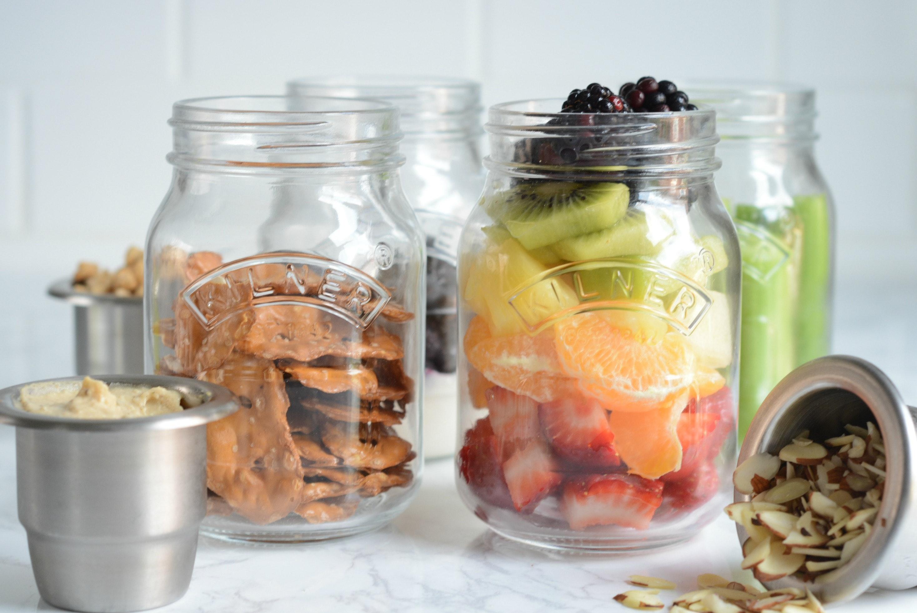 19 Healthy Jar Snack Ideas