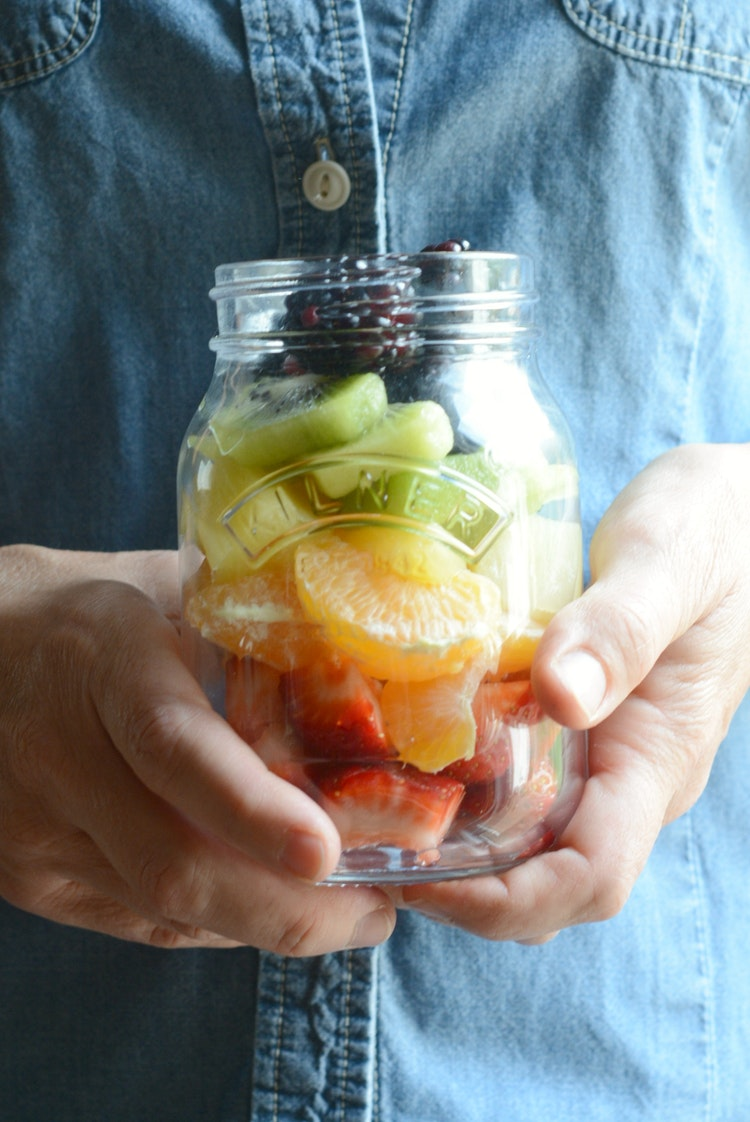 19 Healthy Jar Snack Ideas Sally Kuzemchak The Inspired Home