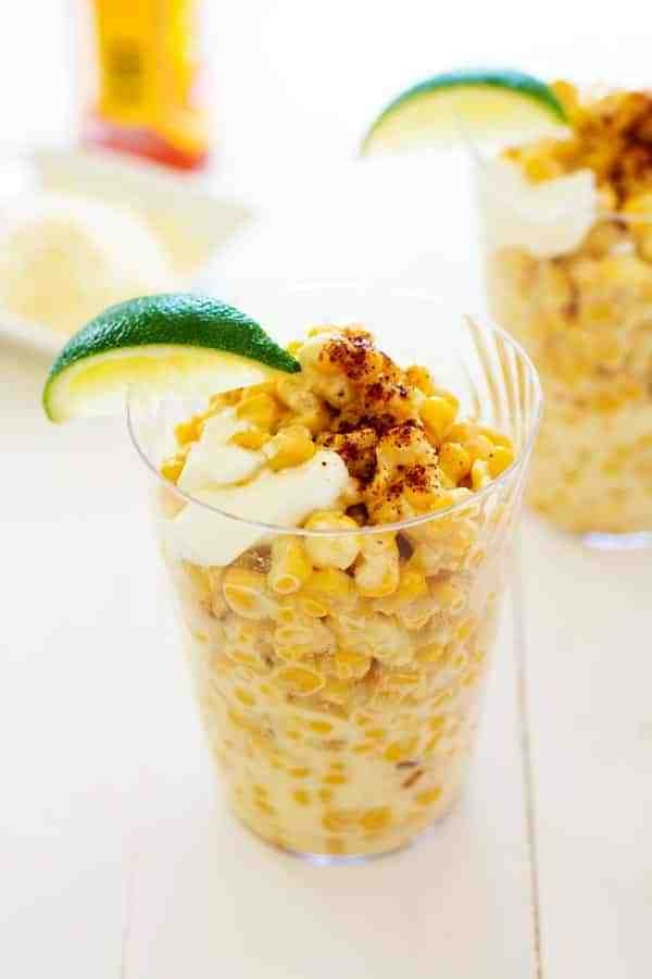 Mexican Corn In A Cup 2