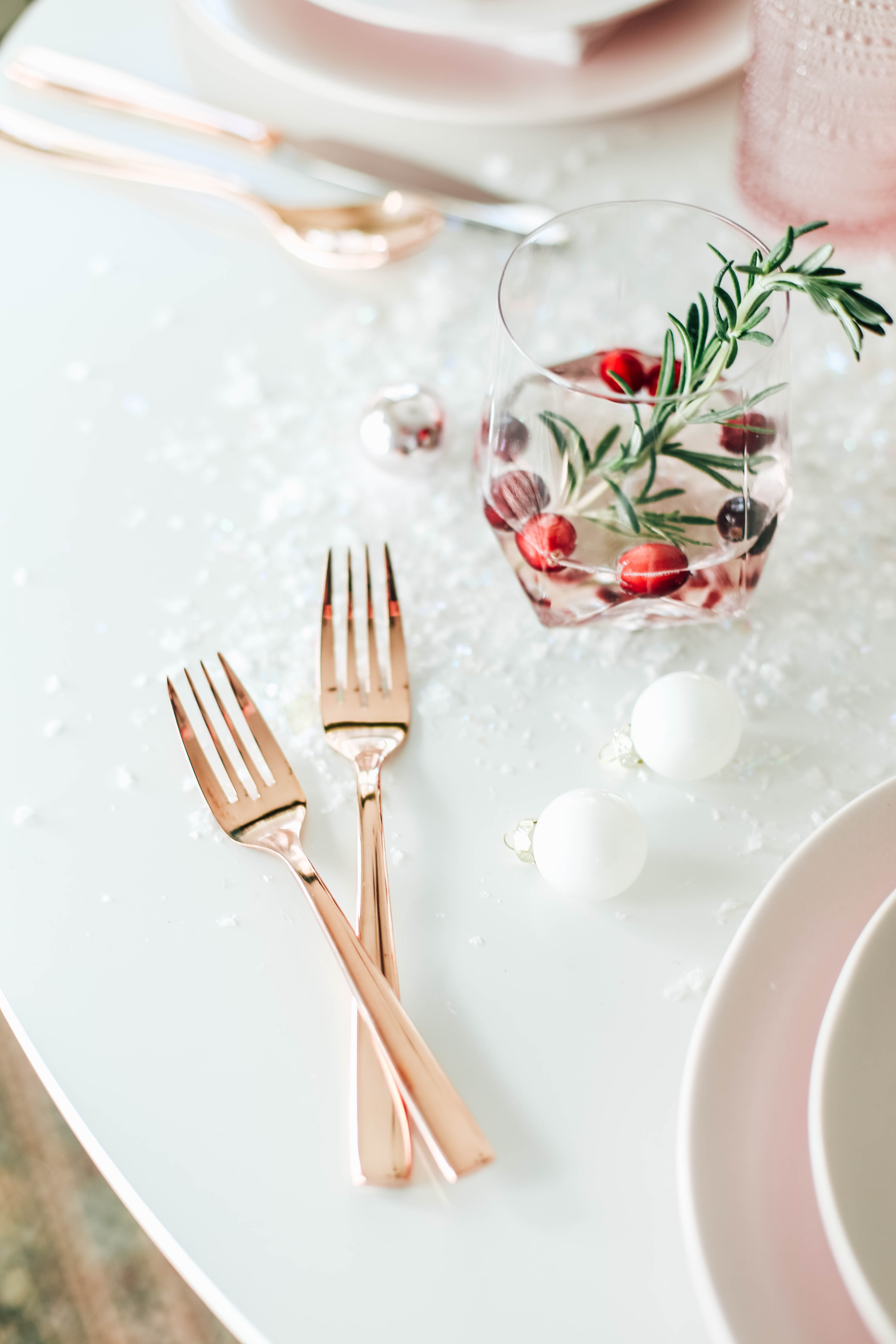 Millennial Pink Table Setting 34