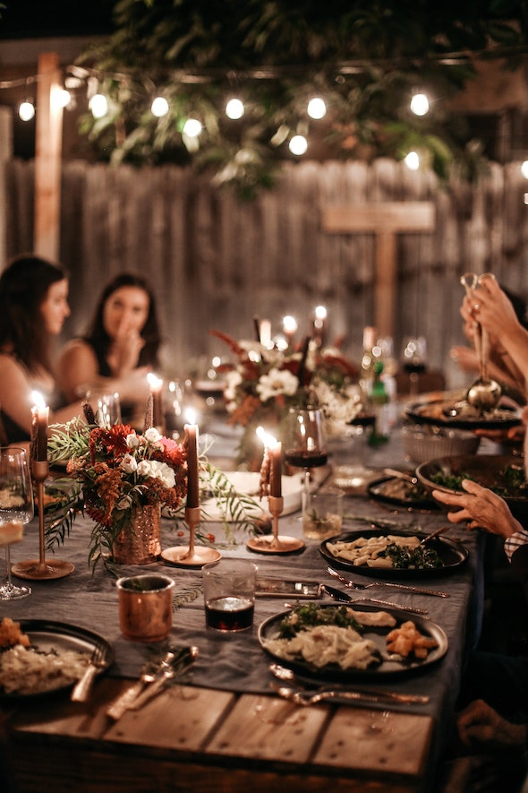 Moody Tablescape 84