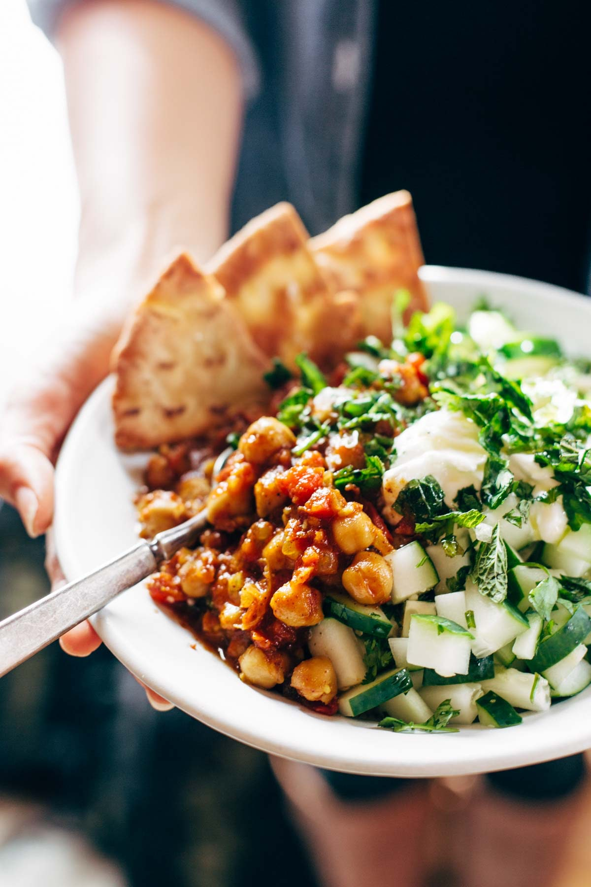 Moroccan Chickpea Bowls 4