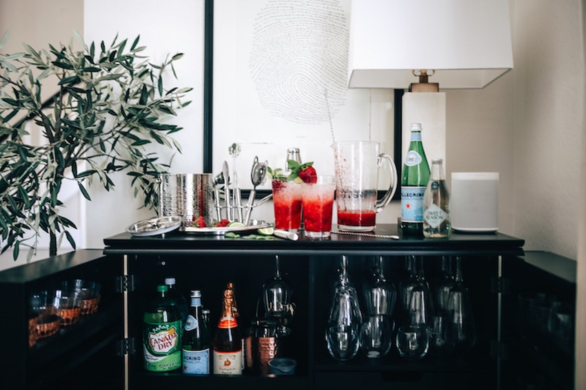 How to Stock a Non-Alcoholic At-Home Bar