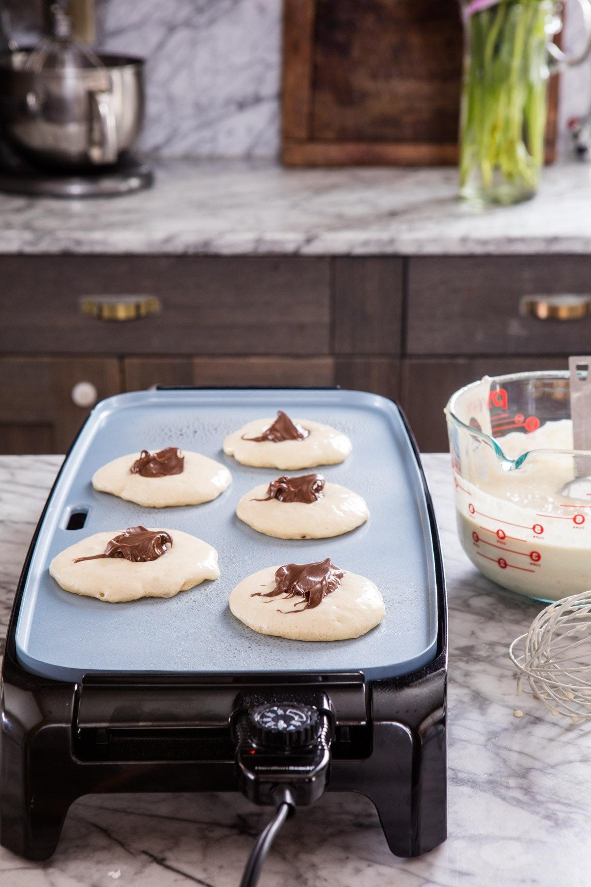 Nutella Stuffed Pancakes 3