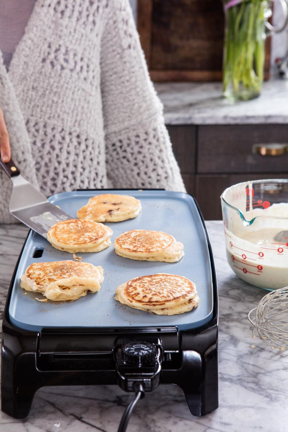 Nutella Stuffed Pancakes 4