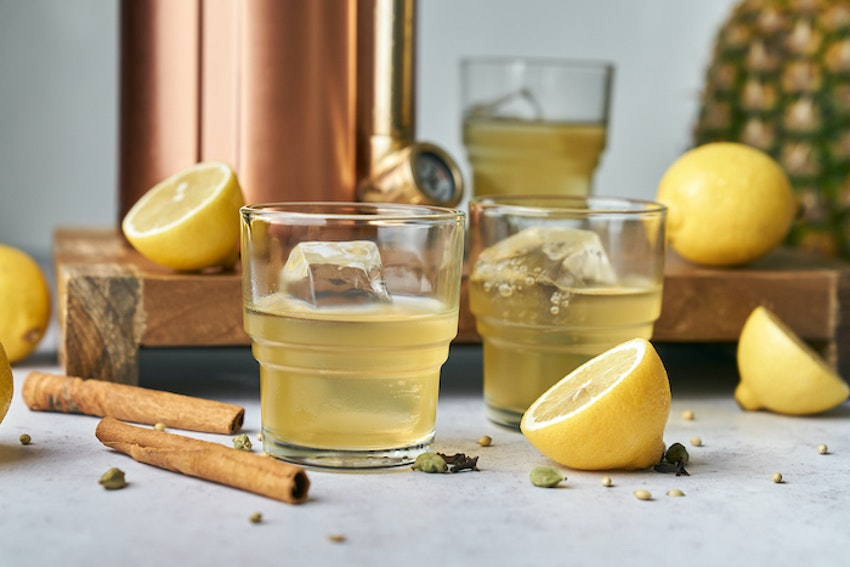 Take the Stress Out of Drinks with This Winter Spiced Make-Ahead Cocktail