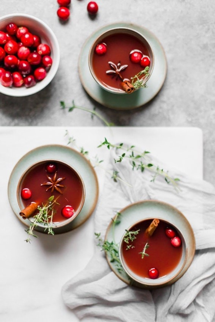 One Pot Holiday Punch: Stovetop Cocktails for a Crowd