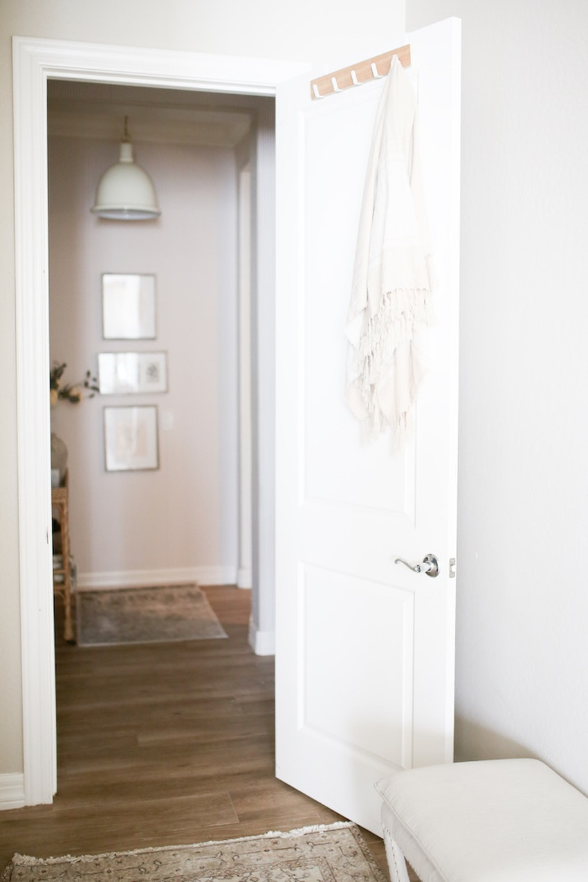 Utilize Your Vertical Space with This Clever Over the Door Storage