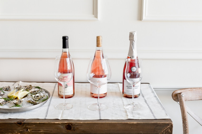 Host an Epic Happy Hour with Oysters and Rosé