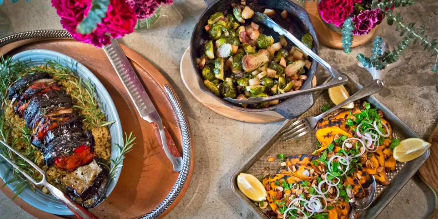 Thanksgrilling: Our Low-Key, Outdoor Take on the Most-Anticipated Meal of the Year