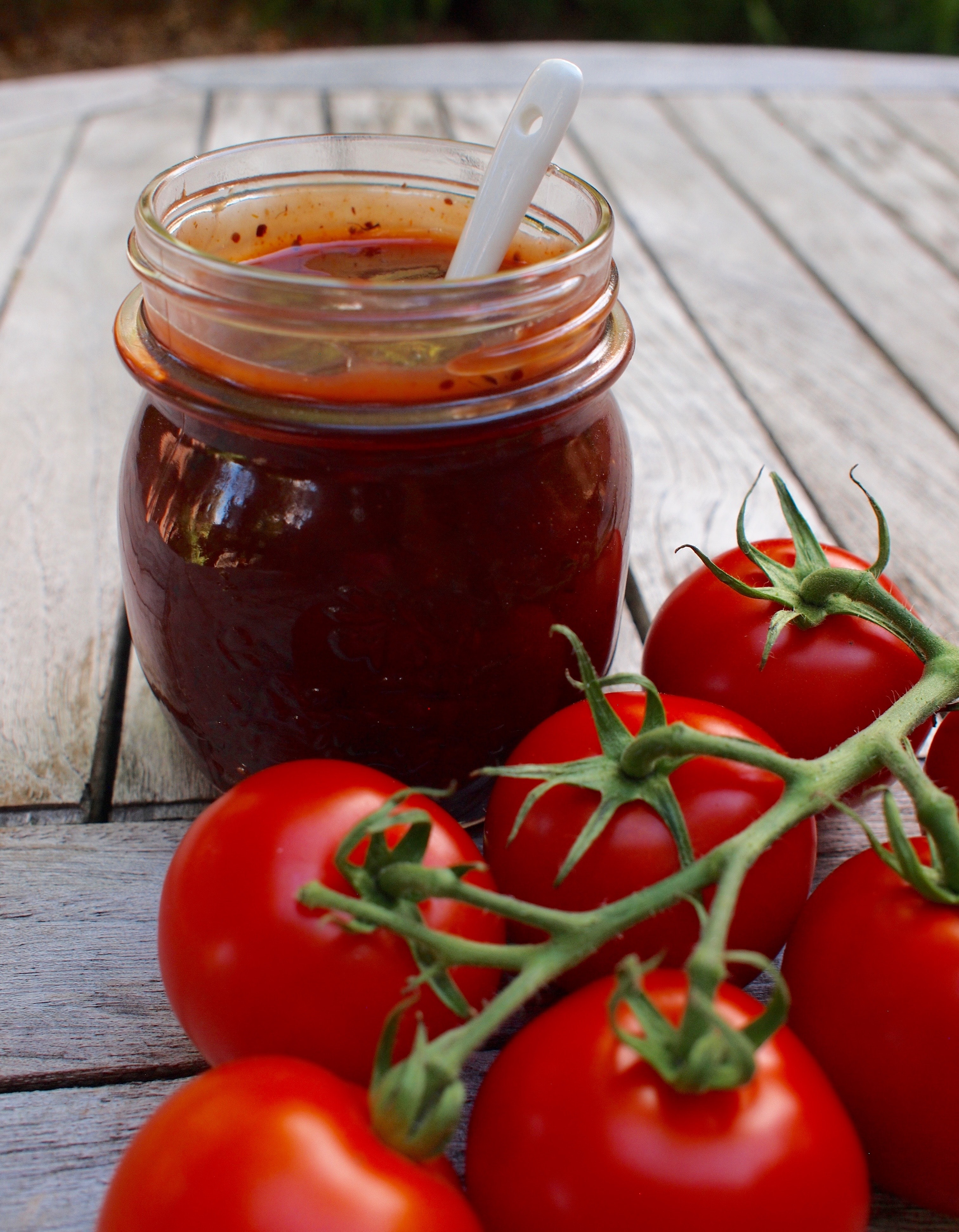 Canned BBQ Sauce and Tomatoes