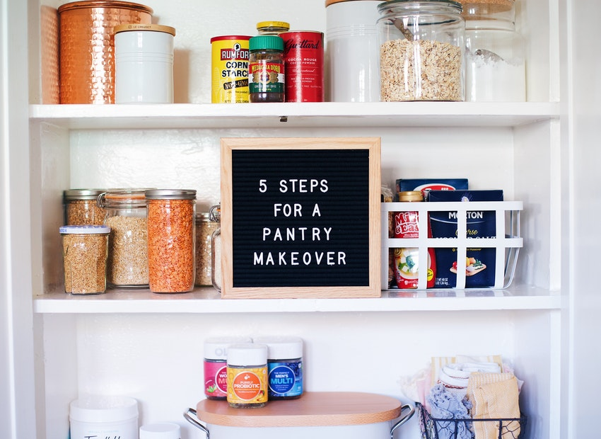 5 Steps to Your Best, Most Organized Pantry