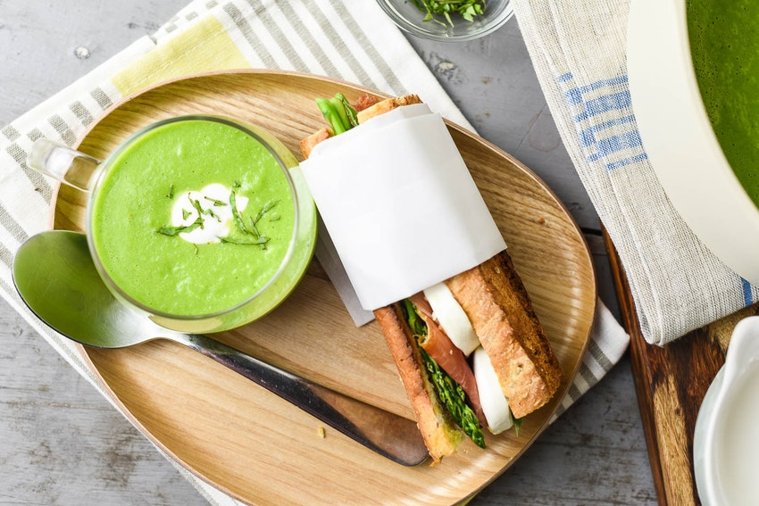 Spring Pea and Basil Soup Recipe