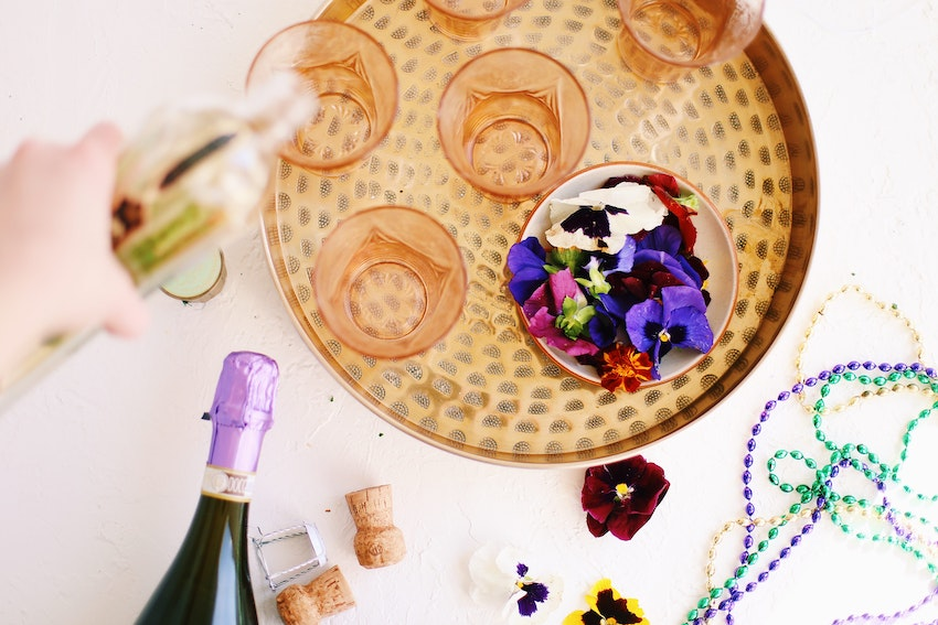 Throw the Most Festive Mardi Gras Party at Home