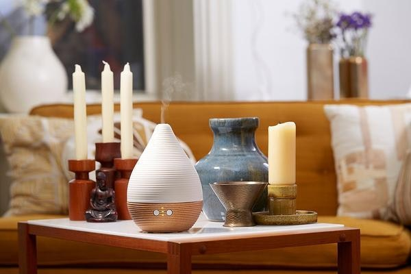 Pilgrim Collection Teo Aromatherapy Ultrasonic Essential Oils Aroma Diffuser 2 Grande