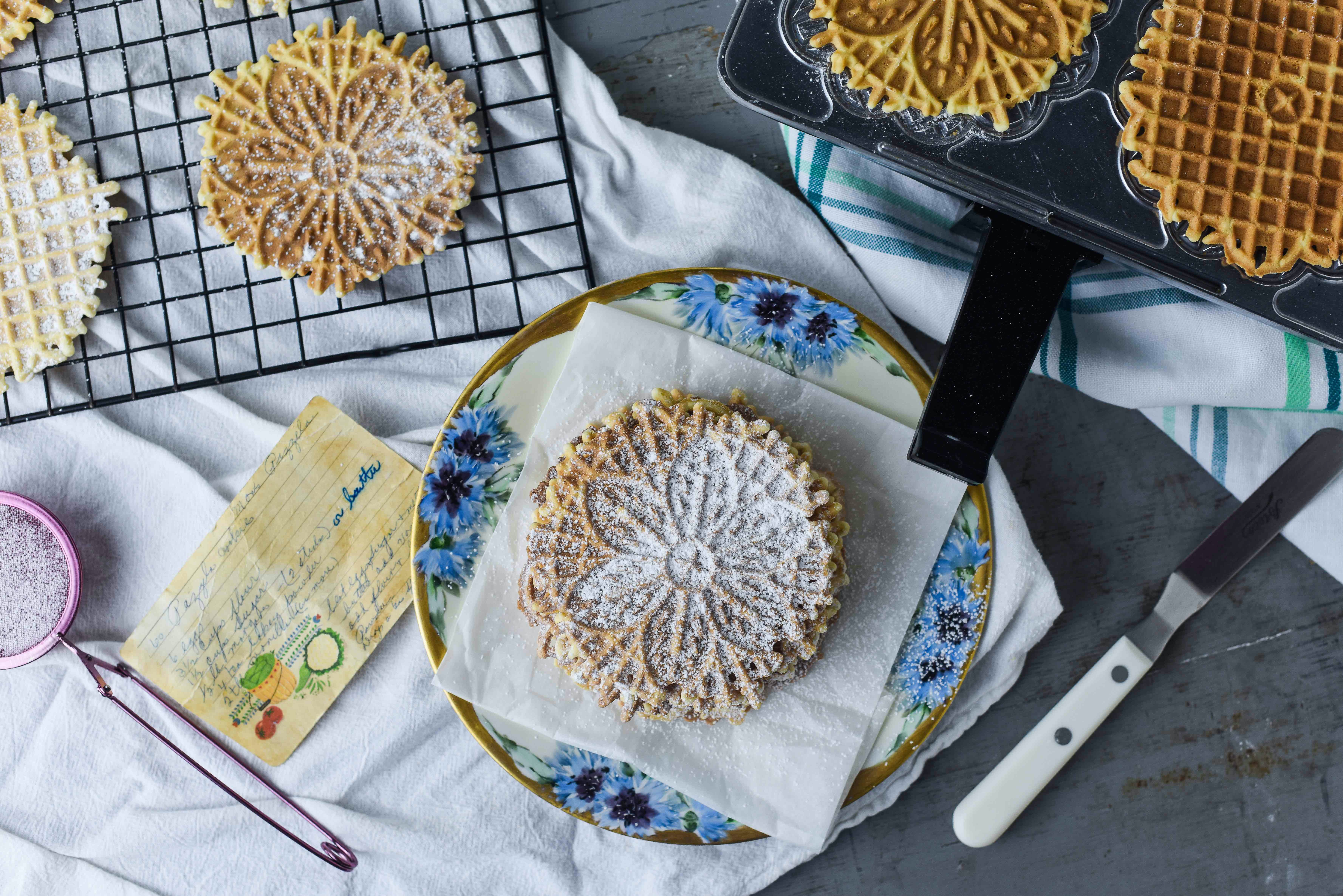 My Grandma S Pizzelles Are The Perfect Holiday Cookie Rebecca