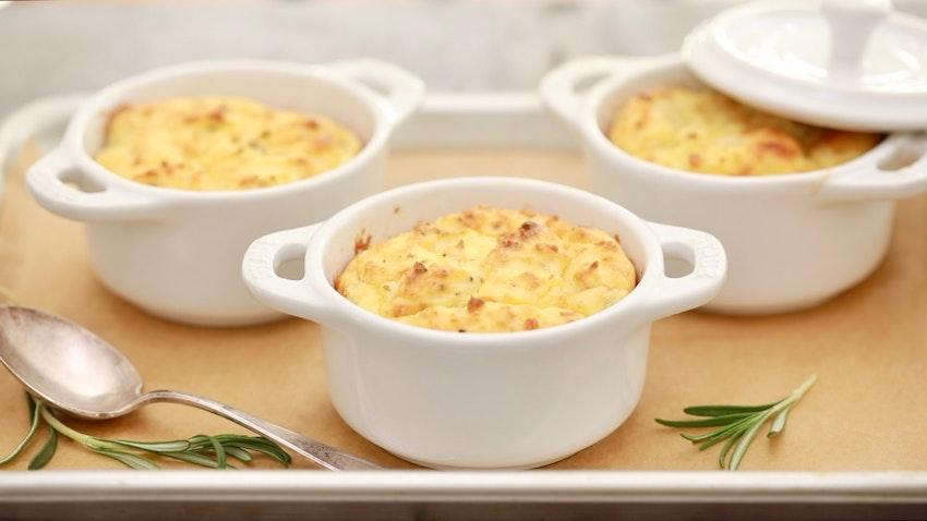 Potato & Rosemary Soufflé Recipe