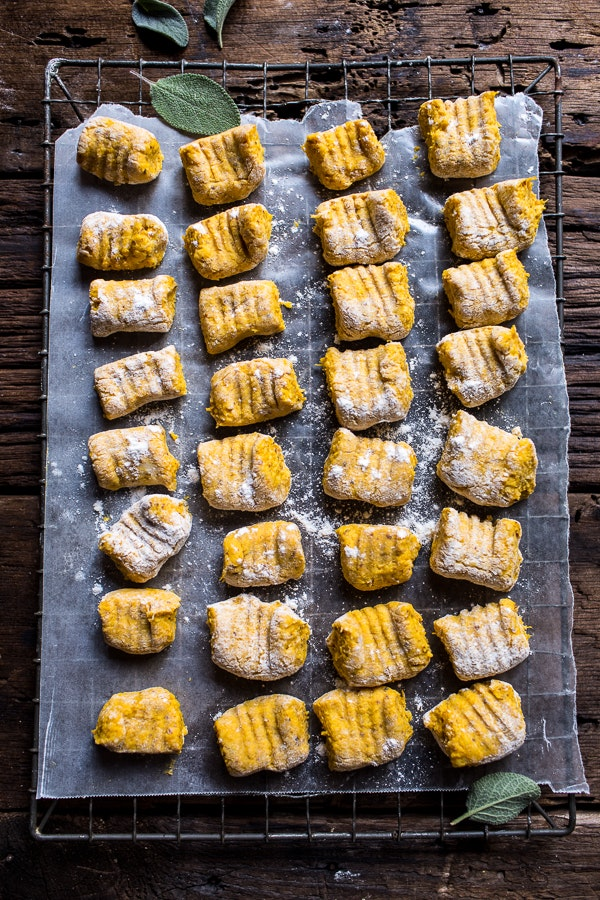 Pumpkin Gnocchi With Balsamic Sage And Blue Cheese Sauce 3
