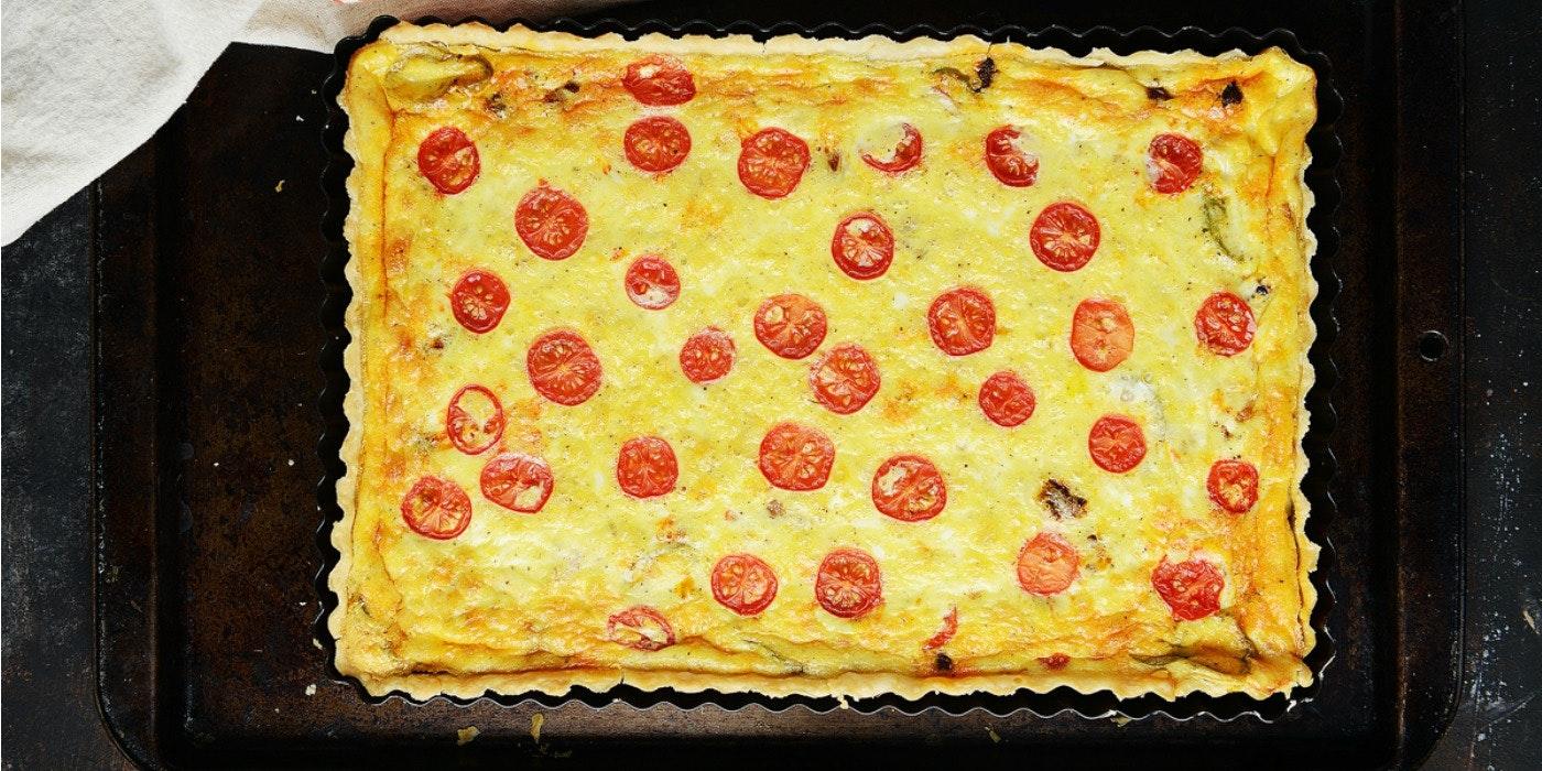 A Hearty Chorizo Quiche Recipe