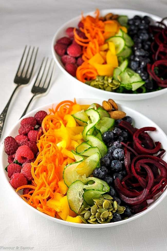 Rainbow Detox Salad 1 Redo