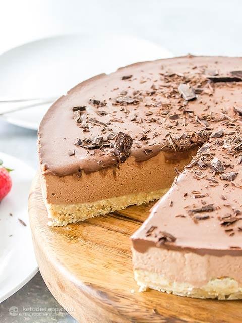 Raw Chocolate Cheesecake 5