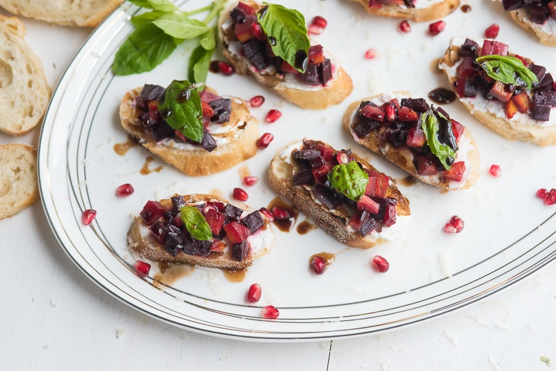 These Roasted Beet Crostini Make an Irresistible Appetizer