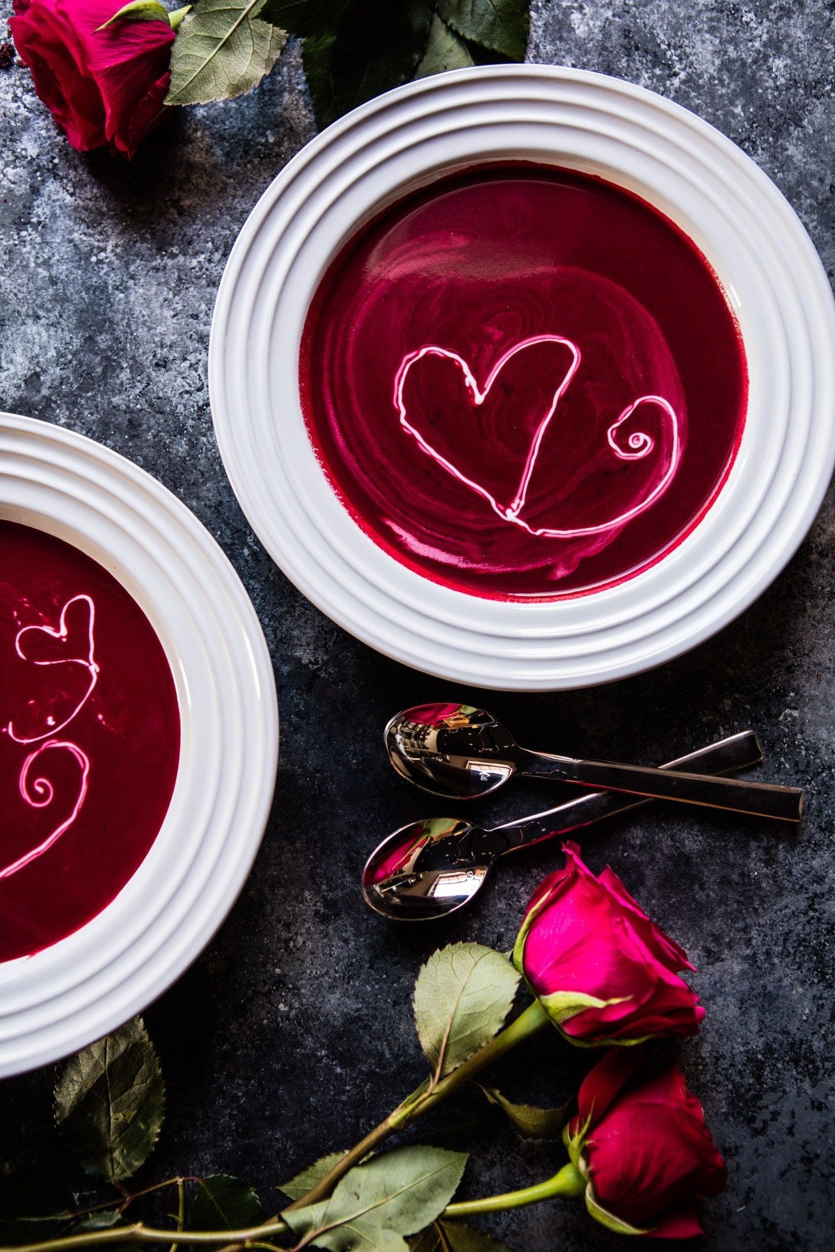 Roasted Beet And Goat Cheese Soup 4