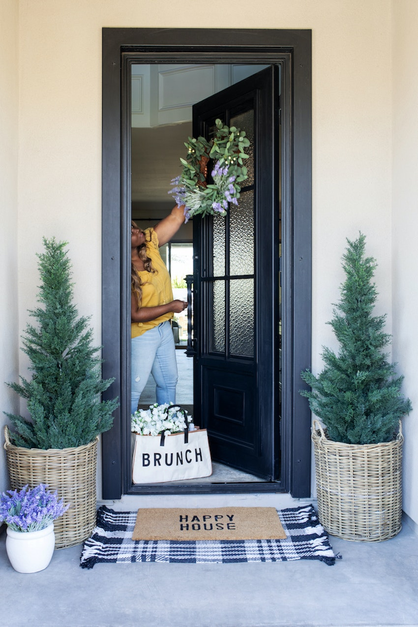 Freshen Up Your Front Porch With This Spring Decor